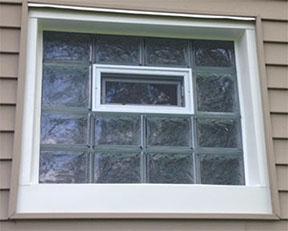 Gl Block Window Installation West Michigan